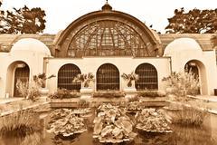 Botanical Building at Balboa Park - stock photo