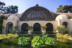 Stock Photo of Botanical Building in San Diego
