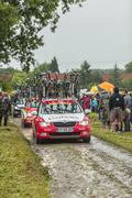 Technical Car of Cofidis Team - Tour de France 2014 Kuvituskuvat