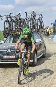 Alexandre Pichot- Paris Roubaix 2014 Stock Photos