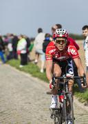Vegard Breen- Paris Roubaix 2014 Stock Photos