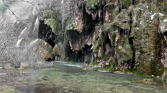 Source of the river Cuervo Stock Footage
