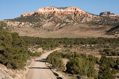 Bryce Canyon from Country Road near Tropic, Utah Stock Photos