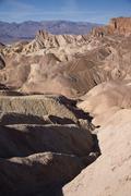 Death Valley's Zabriske Point - stock photo