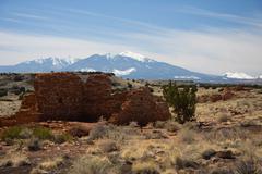 Lomaki Pueblo at Wupatki Monument Stock Photos