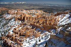 Bryce Amphitheater from Bryce Point Stock Photos