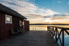 Archipelago on the Baltic Sea coast - stock photo