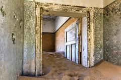 Ghost town Kolmanskop, Namibia - stock photo