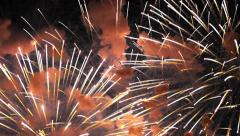 Fireworks Show / Fireworks Explosions Stock Footage