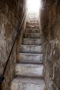 Stairway to light, metaphor to heaven - stock photo