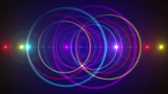 purple abstract background, flashing light, loop - stock footage