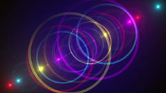Purple abstract background, flashing light, loop Stock Footage