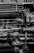 Steam Engine Pipes - stock photo