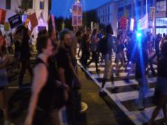 NTSC (720X486) Black Lives Matter in Washington, D.C. - stock footage