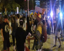 PAL (720X576) Black Lives Matter clip 2 of 3 Stock Footage