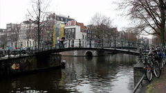 Amsterdam, The Netherlands. Holland. Stock Footage