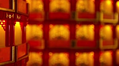 Religious Statues Represents a Substantial Donation to Thean Hou Temple - stock footage