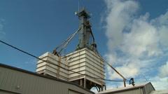 Grain Mill Timelapse Stock Footage