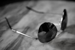 Miror sunglasses - stock photo