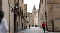 Calle Compania Stock Footage