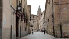 Calle Compania Longer - stock footage