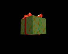 Unpacking of a gift - DV Pal Stock Footage
