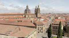 A View From The Cathedral Roof Stock Footage