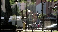 Calle De Las Huertas Stock Footage