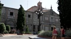 Monasterio De Las Descalzas Reales - stock footage