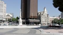 Stock Video Footage of Plaza De Colon