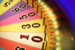 Blurry colorful glow gambling roulette Kuvituskuvat