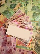 Mexican Peso currency notes banknotes Stock Photos