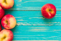 Leadership Concept Background / Leadership Concept Illustrated by Apples - stock photo