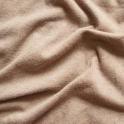 Creased cloth material - stock photo
