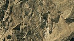Stock Video Footage of Climber climbing big granite wall Chamonix