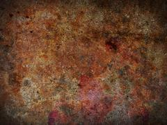 Rusty background - stock illustration