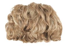 Stock Photo of Hair wig isolated