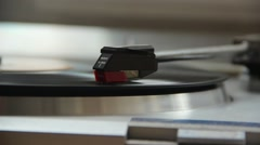 A running turntable Stock Footage