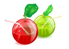 Apples Stock Illustration