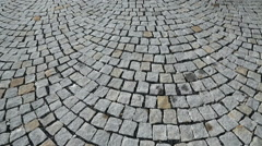 Cobbled Street 2 Stock Footage