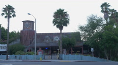 House of Blues on Sunset Strip Front Wide Shot Stock Footage