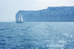 San Antonio Cape sailing sailboat in Denia Kuvituskuvat