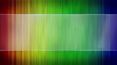 Colorful stripes and blank banner seamless loop 4k (4096x2304) Stock Footage