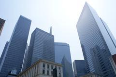 Dallas downtown city urban bulidings view Kuvituskuvat