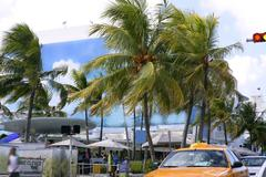 Miami South Beach Art Deco district - stock photo