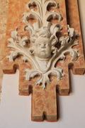 Stock Photo of baroque figure detail decorative wall ancient