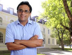 Indian latin man hotel owner real estate businessman Kuvituskuvat