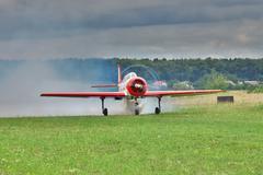 Aerobatic aircraft Stock Photos