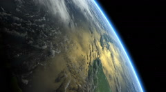 Earth from Space spinning, rotating. Earth timelapse. Loop. Arkistovideo