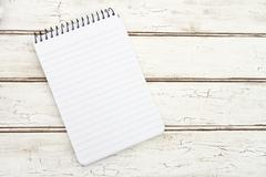 Blank Notepad for your message - stock photo